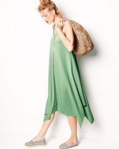 Knit Handkerchief Dress