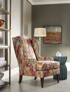 Luxury Furniture & Design: Sam Moore Furniture. Wing Chair Captivation.