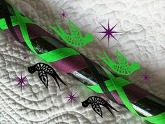 My next one: Dark Dove Dance & Exercise Hula Hoop COLLAPSIBLE or STANDARD - beetlejuice black neon green purple