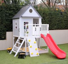28 Awesome Backyard Kids Ideas Play Spaces Design Ideas And Remodel. If you are looking for Backyard Kids Ideas Play Spaces Design Ideas And Remodel, You come to the right place. Backyard House, Backyard Playhouse, Build A Playhouse, Modern Backyard, Backyard For Kids, Backyard Projects, Backyard Landscaping, Outdoor Playhouses, Cozy Backyard