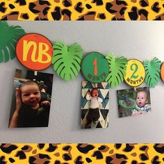 Jungle Safari Wild One Photo Banner for Birthday Party Welcome to the Jungle bday photo bann 1st Birthday Boy Themes, Safari Theme Birthday, Boys First Birthday Party Ideas, Wild One Birthday Party, Animal Birthday, 1st Birthday Banners, Safari Party, Jungle Theme Parties, Jungle Safari