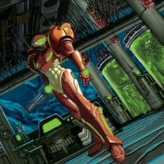Metroid Finished For Now by ~jokoso on deviantART