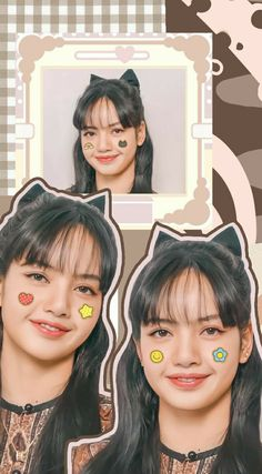 Wallpaper Doodle, Lisa Blackpink Wallpaper, Rainbow Wallpaper, Black Pink Songs, Black Pink Kpop, Blackpink Poster, Black Pink Dance Practice, Mode Kpop, Korean Beauty Girls