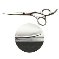 6 inch Gebogen Haar Snijden Schaar Professionele Hoge Kwaliteit Rvs Kapper Scharen Kappers Gereedschap XK329-60Q-P