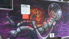Astronaut #Brighton #streetart #Brightongraffiti #paintedcity