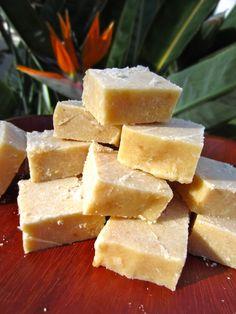 RAW Food for Truth: Coconut Lemon Fudge.   My Favorite Lemon Candy !!