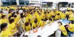 전북지부 국제위러브유운동본부(장길자회장) '헌혈하나둘운동'  국제위러브유운동본부(장길자회장) 단체 헌혈을 위한 아름다운 발걸음 헌혈하나둘운동