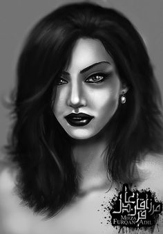 Girl Portrait (Photoshop) by mirzafurqan.deviantart.com on @DeviantArt