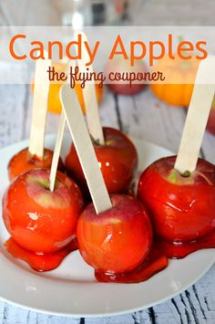 Try my Candy Apple Recipe today! Fun Halloween recipes for kids. The Flying Couponer | Family. Travel. Saving Money.
