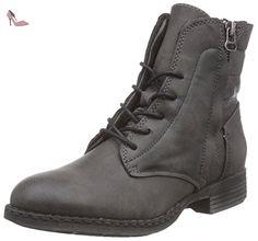 Boot, Bottes mi-Hauteur Avec Doublure Chaude Femme Noir (000 Black) 36 EUJane Klain