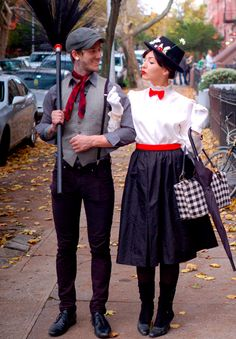 Mary Poppins Couples Cosplay