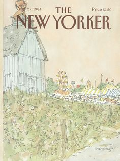 The New Yorker - Monday, August 27, 1984 - Issue # 3106 - Vol. 60 - N° 28 - Cover by : James Stevenson