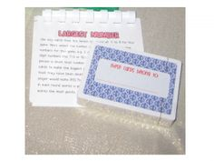 Easy and Educational student gifts. And a fun way to give them out! :)