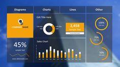 weather widget powerpoint dashboard | dashboard design, weather, Modern powerpoint