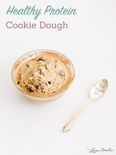 Recipe Box: Healthy Protein Cookie Dough