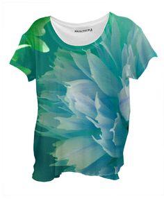 In Bloom Drape Shirt