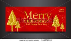 Merry Christmas for cover face book,happy new year,red background,polygon background,cover design, banner design,web wallpaper,card design