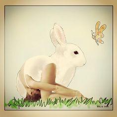 sasangasana: rabbit pose