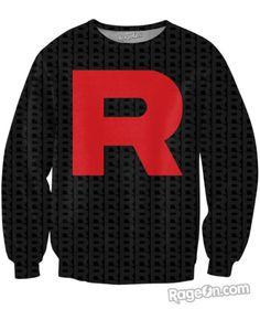 Team Rocket Crewneck Sweatshirt
