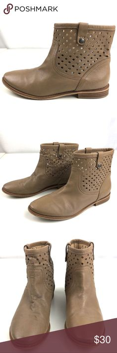 499d701e51 40 (9) GEOX Leather Booties made in Italy Soft Leather Booties by GEOX,
