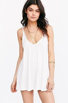 Shop Now - >  https://api.shopstyle.com/action/apiVisitRetailer?id=472865453&pid=uid6996-25233114-59 Silence + Noise Corinne Tank Top  ...