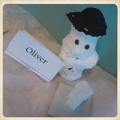 Sokeri lumiukko