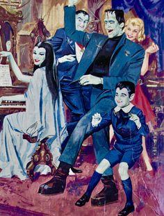 The Munsters Munsters Tv Show, The Munsters, Munsters House, La Familia Munster, Munster Family, 1313 Mockingbird Lane, Herman Munster, Black Sheep Of The Family, Lily Munster