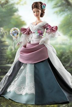 Mademoiselle Isabelle Barbie doll. . . .I remember really, really wanting this one! She's so gorgeous.