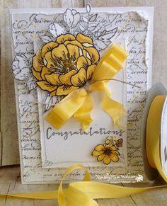 Yellow Roses for 50 Years... | Rambling Rose Studio | Billie Moan