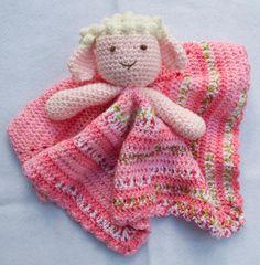 LAMB LOVEY blankie, blankey, security blanket | Craftsy