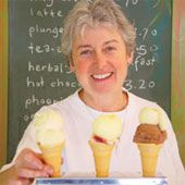 Waitete Orchard Ice Creamery, as mentioned on NZ Food Finder http://nzfoodfinder.com/2015/12/02/the-german-bakery-waihi/