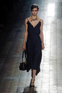 LOVe the necklace ;) Lanvin Runway | Fashion Week Fall 2013 Photos