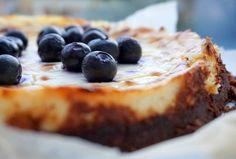 New York Cheesecake (suikervrij, glutenvrij, koolhydraatarm)
