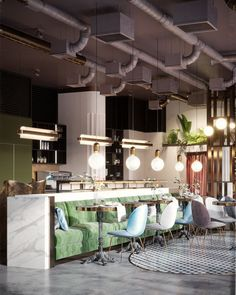 WANDERLUSTING: contemporary restaurant design, so pink & pretty — The Decorista #restaurantdesign