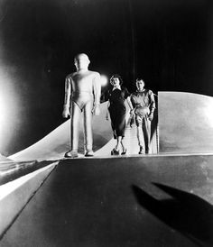 "The Day the Earth Stood Still. Definitely one of my all time favorites. With Michael Rennie and Patricia Neal. I was watching ""Army of Darkness"", the other day, cracked me up because they used the phrase from this iconic movie, ""Klaatu Barada Nikto"". I understand this phrase is often used in movies and T.V."