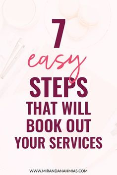 7 Easy Steps that will Book Out Your Services // Miranda Nahmias & Co. Digital #Marketing -- | Maddy Osman, aka The Blogsmith, shares lessons learned about freelancing, WordPress plugins for bloggers, SEO writing and top digital marketing ideas. You can find her latest knowledge drop to help you grow to a six-figure business at www.the- blogsmith.com/blog