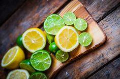 Jeruk nipis dan lemon segar campuran Soda Jahe Sodara
