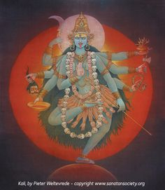 "My oldesst daughter renamed herself when she was little, the name was Kalikamulan and when trying to figure out where she got the name from I came upon ""Shri Kalika Devi""....interesting"