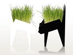 Cat Planter by Emocja