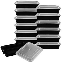 Features:  -With lids.  -Reusable: Grease and oil resistant; easy to clean stay environmentally friendly by use them again and again.  -Durable reusable top rack .  -Dishwasher safe .  -Leak-resistant