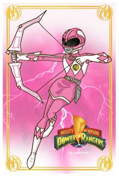 Pink Ranger by neilabbott