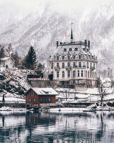 Iseltwald, Berne, Switzerland #berne #iseltwald #Switzerland