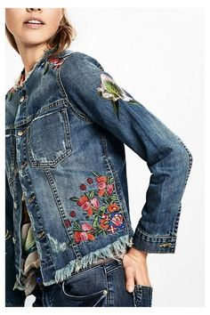 Women's denim jacket - Noucol | Desigual.com L