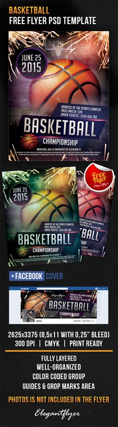 Basketball – Free Flyer PSD Template + Facebook Cover https://www.elegantflyer.com/free-flyers/basketball-free-flyer-psd-template-facebook-cover/