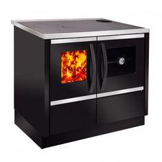 CALDERA COCINA ALESSANDRA Color Negra, Kitchen Appliances, Outdoor, Home, Radiators, Boiler, Ponds, Cooking, Colors