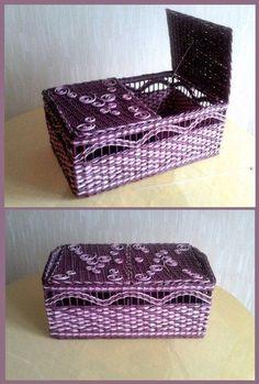 кручу, верчу ...   107 fotografie   VK:                                                                                                                                                      Más Recycled Crafts, Wood Crafts, Diy And Crafts, Newspaper Basket, Newspaper Crafts, Paper Furniture, Crochet Basket Pattern, Art N Craft, Wicker Baskets