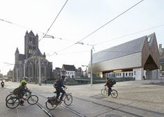 Market Hall in Ghent