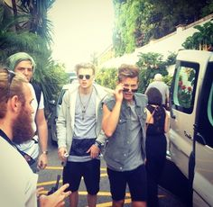 """The Vamps are in Spain shooting the """"Somebody To You"""" shoot !!! Excited!!!"""