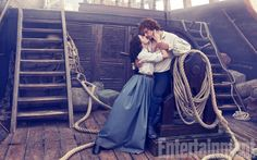 Outlander 3: Sam Heughan e Caitriona Balfe sulla cover di Settembre di Entertainment Weekly | OUTLANDER Italy