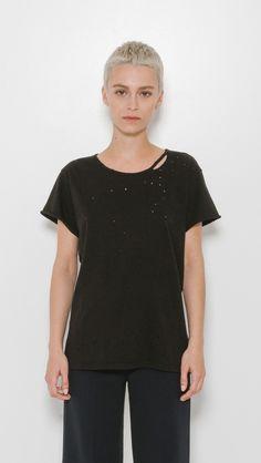 RtA Jewel Tee in Black | The Dreslyn